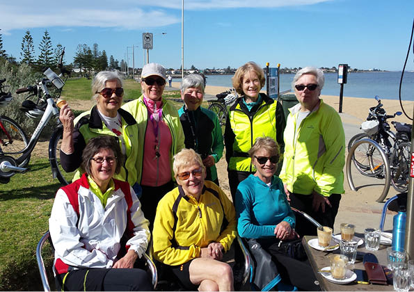 Women on Wheels – Wednesday bike group