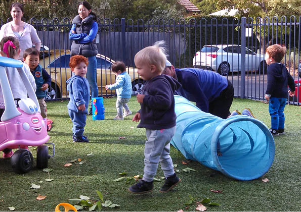 Parent/carer led playgroups – Friday