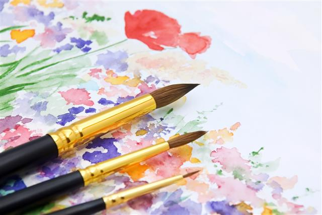 Watercolour Painting Classes