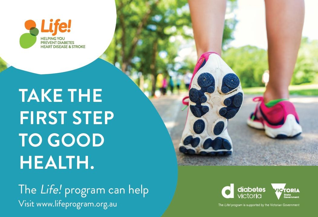 Life Program – FREE Preventative Program for people at high risk of developing heart disease, diabetes or stroke.